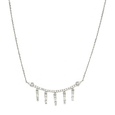 Ila Curved Chandelier Necklace
