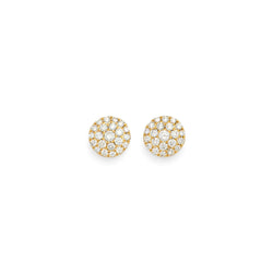 Bria Diamond Stud Earrings