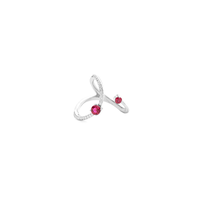 Open Space Ruby Ring