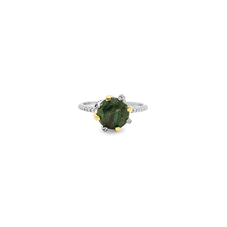 Galaxy Carina Aventurine Ring