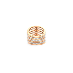 Multi Stack Diamond Ring