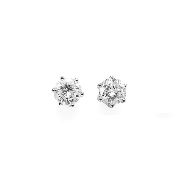 Solitaire .3 Diamond Studs