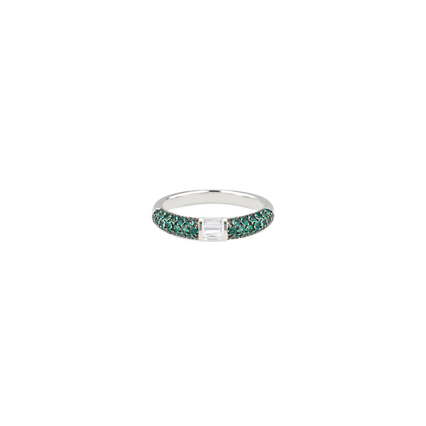 Eternity Emerald Stack Ring