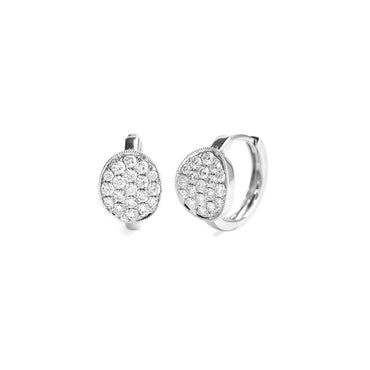 Bria Diamond Huggie Earrings