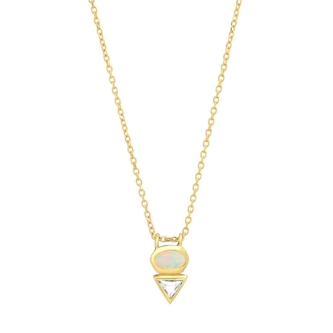Eos III Opal Duo Necklace