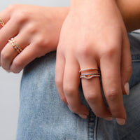 Super Slim Rose Gold Ring by Access79