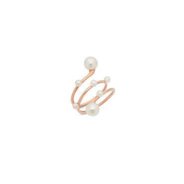 Multi Pearl Wrap Ring