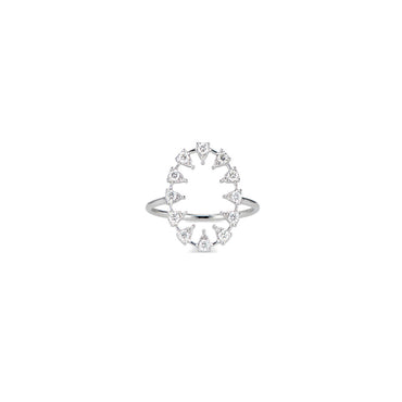 Reve Oval Diamond Ring