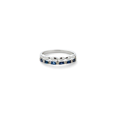 Step Sapphire Ring