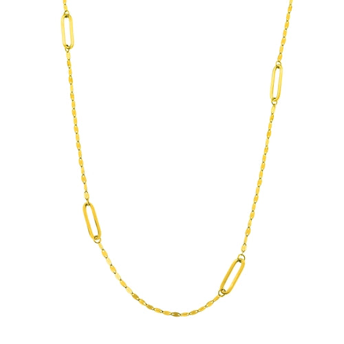Evelyn Gold Necklace
