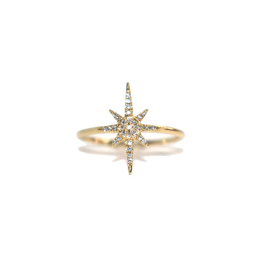 Compass Star Diamond Ring