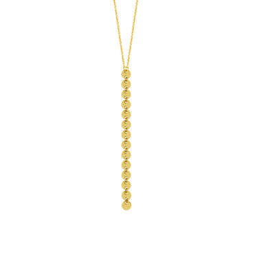 Emoline Gold Disc Necklace