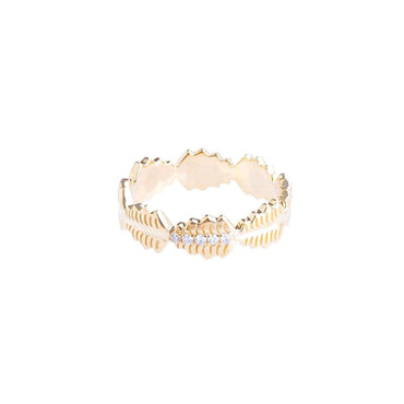 Fern Diamond Eternity Band Ring