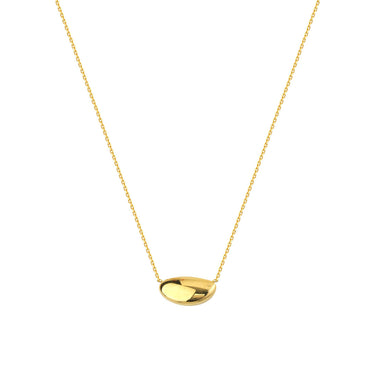 Abi Solid Gold Necklace