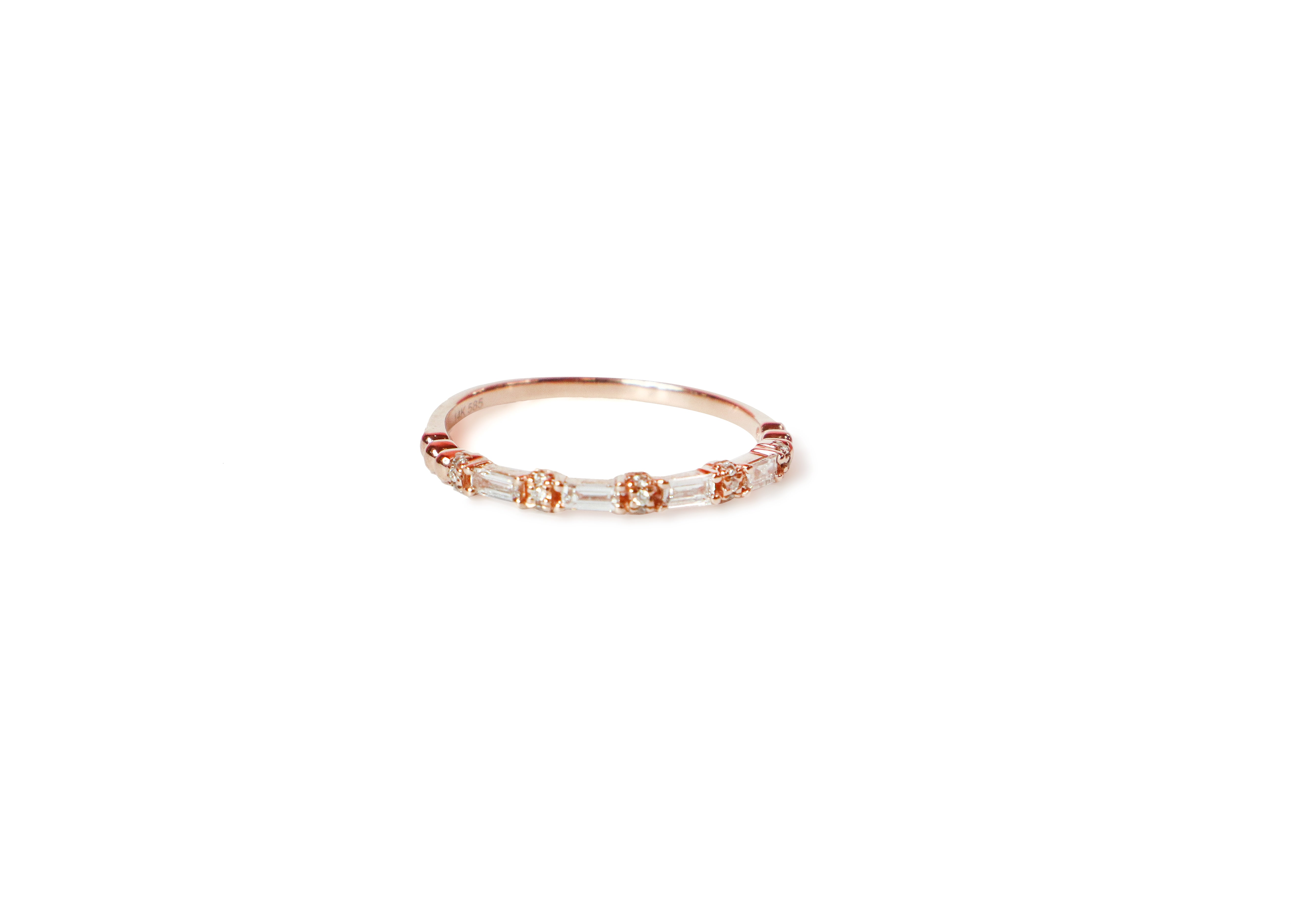 Althea Rose Gold Diamond Ring