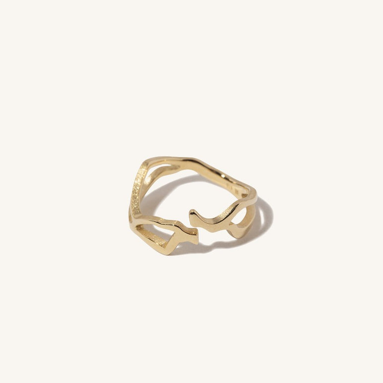 Kintsugi Diamond Ring II