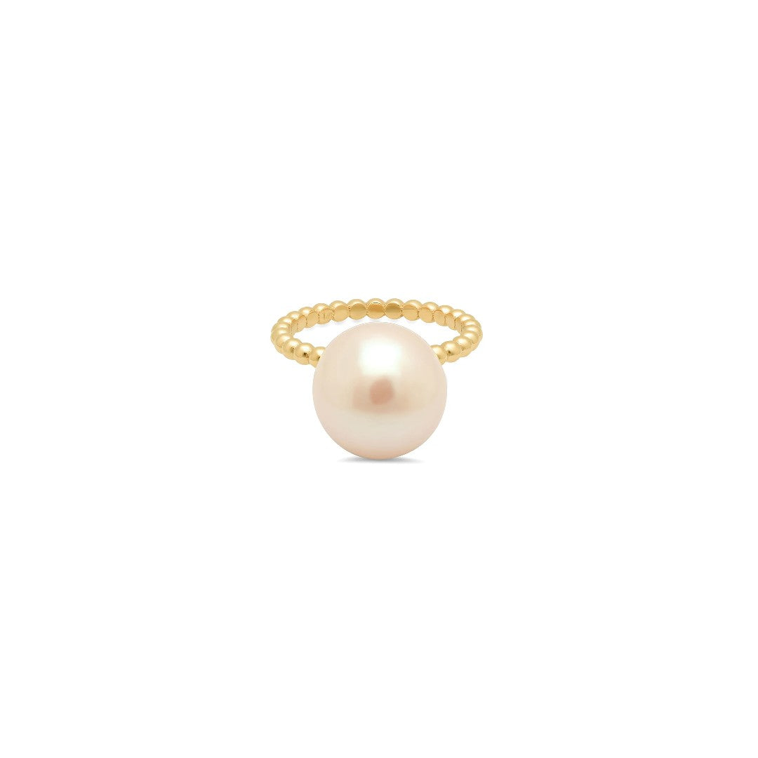 Cymbeline Large Pearl Stackable Ring