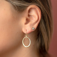 Marla Gold Hoop Earrings