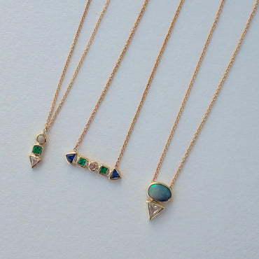 Multi Cadence Opal Necklace