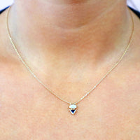 Eos II Opal Duo Necklace