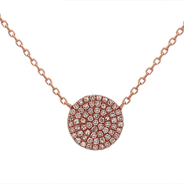 Full Circle Diamonds Necklace