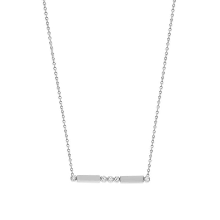 Parker Diamond Bar Necklace