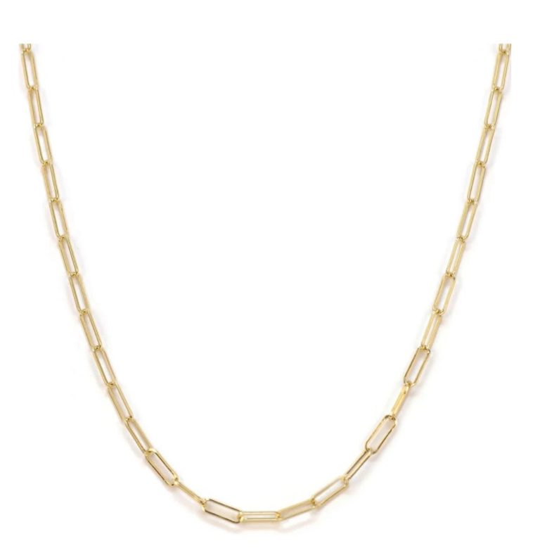 Modern Staple Gold Chain