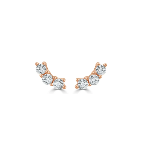 Gemma Diamond Stud Earrings