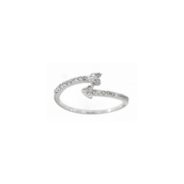 Dallas Diamond Cuff Ring