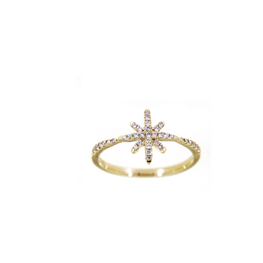 Sora North Star Diamond Ring