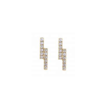 Athena Diamond Stud Earrings
