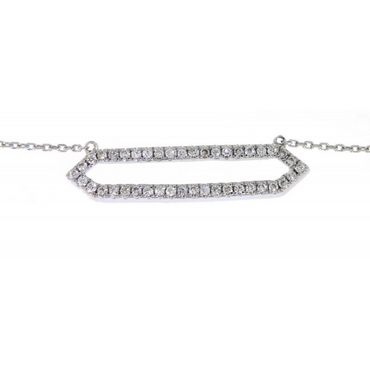 Onna Open Diamond Necklace