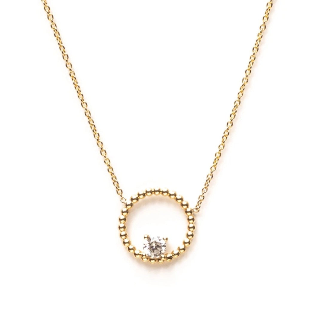 Wreath Diamond Necklace