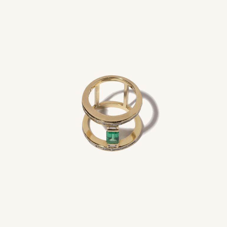 Signature Emerald Ring