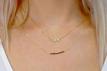 Greer Gold Necklace