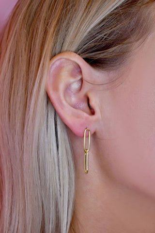 Malone Gold Earrings