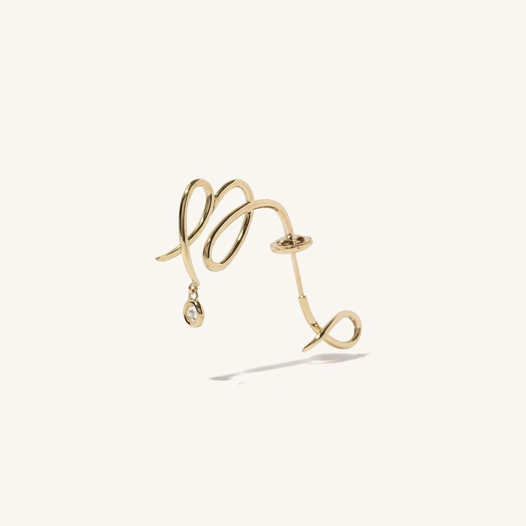 Virgo Zodiac Constellation Earring
