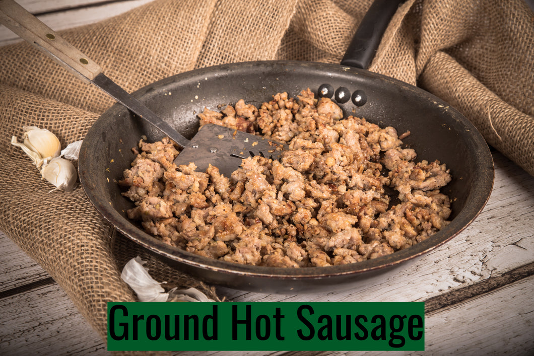 Hot Ground Sausage