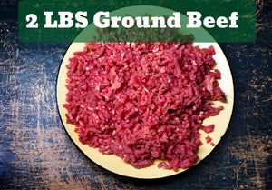 2 Lbs Ground Beef