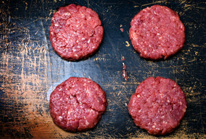 2 lbs of Ground Beef Patties