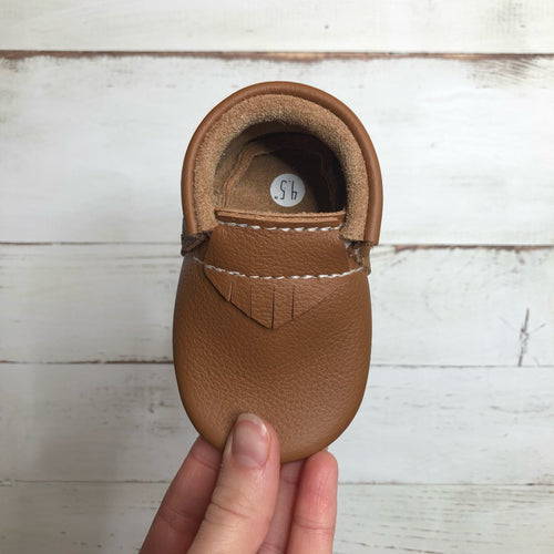 Medium Brown Moccasins