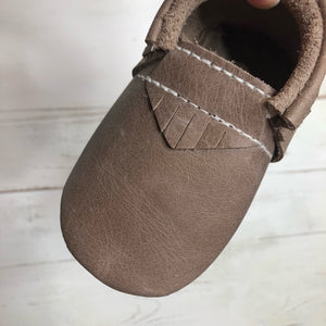 Echo Brown Moccasins