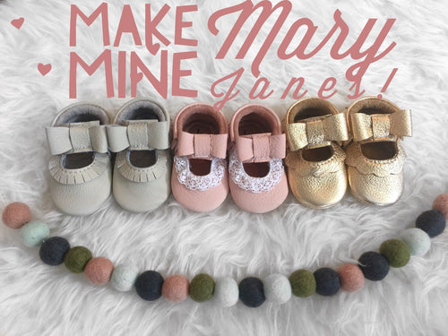 Make My Mocs Mary Janes | ADD ON
