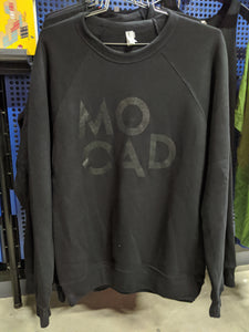 MOCAD Black Crewneck Long Sleeve