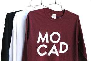 MOCAD Logo Long Sleeve Shirt