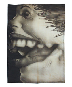 Jim Shaw (Distorted Faces Series) Tea Towel