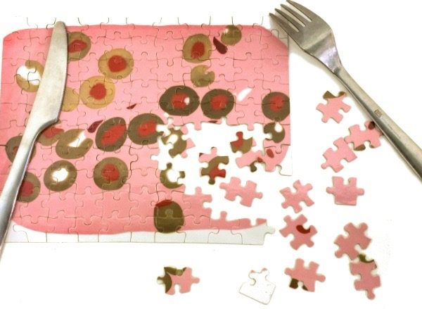 MOCAD Martha Friedman Loaf Puzzle Signed