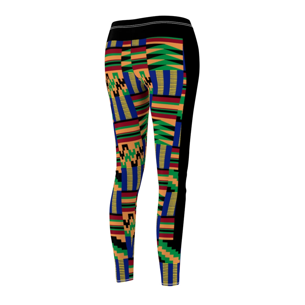 Akwaaba Kente II Casual Leggings