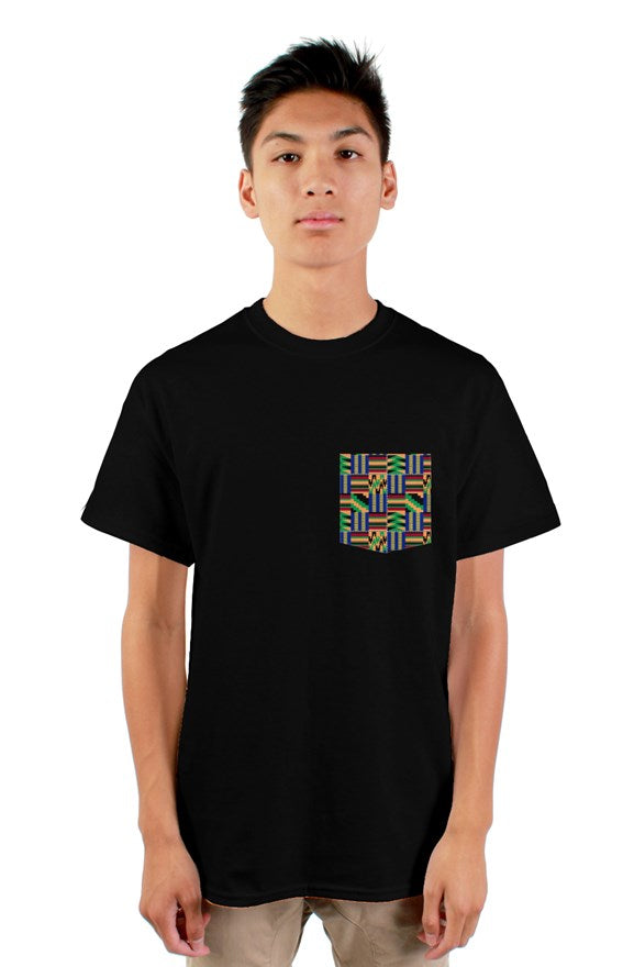Kente Styles -Pocket Tee