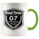 Proud Parent of 7 Awesome Kids - Mugs